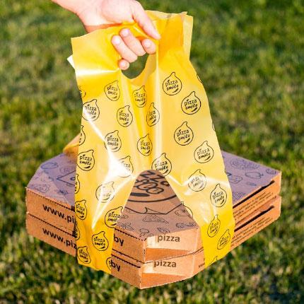 пакеты для пиццы