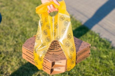 пакеты для пиццы в Минске недорого